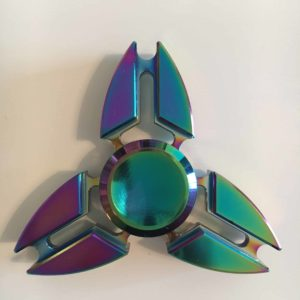 hand spinner metal multicolore rainbow